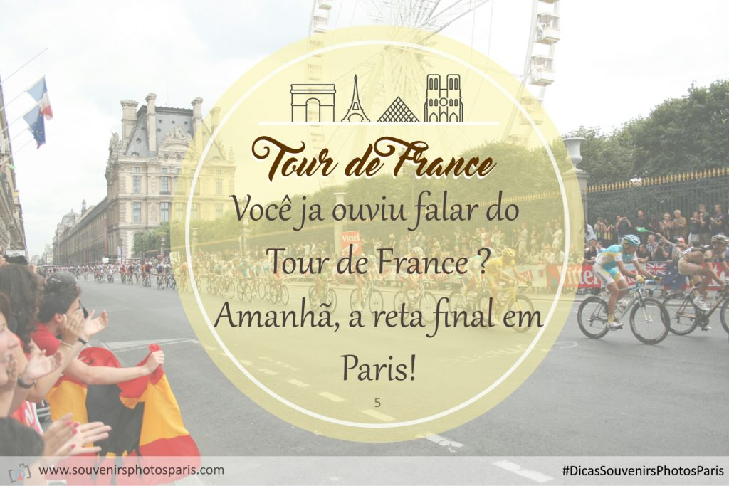 Reta final do Tour de France