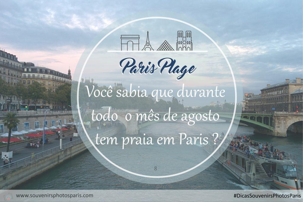 Paris Plage : quando a praia invade Paris